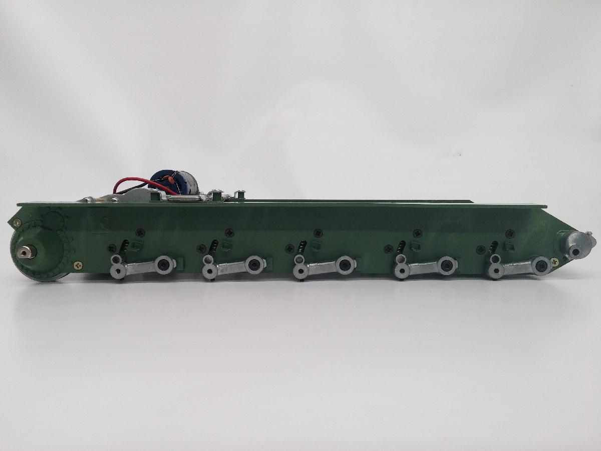 T34/85 METAL CHASSIS WITH STEEL GEARBOXES AND METAL SUSPENSION ARMS - T34 lower metal chassis
