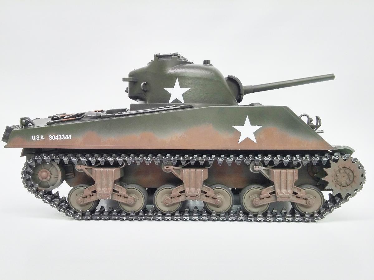 Taigen Sherman M4a3 75mm Metal Edition Infrared 2 4ghz
