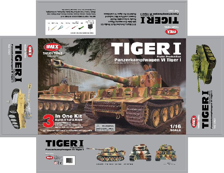 TIGER1 BOX taigen early tiger 1 1 16th scale kit Basic Electrical Wiring Diagrams at creativeand.co