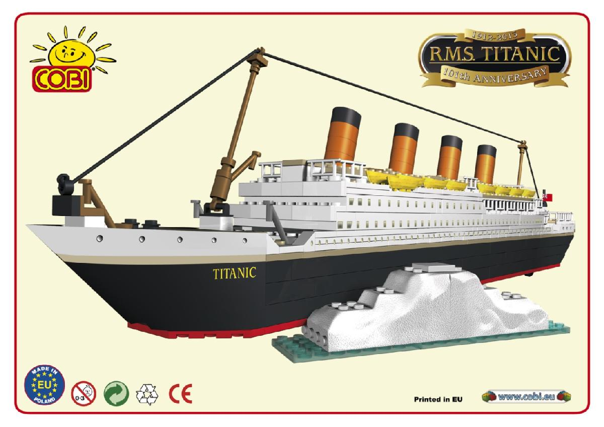 rms titanic white star line limited edition building bricks. Black Bedroom Furniture Sets. Home Design Ideas
