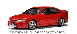 1/18 HSV COMMODORE VT2 CLUBSPORT R8