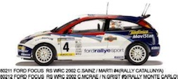 1/18 FORD FOCUS WRC 02 RALLY CATALUN