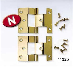1/12 BRASS HINGES FOR CEILING