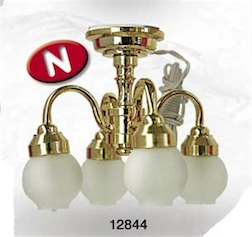 1/12 4 BALLOONS CEILING LAMP
