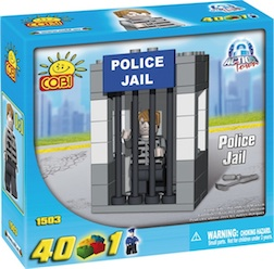 POLICE - POLICE JAIL (40 PC) - Police Jail, 40 pieces