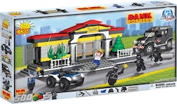 POLICE - BANK ROBBERY (500 PC) - Cobi Action Town- Police Bank Robbery in progress Bank Swat, 500 pieces