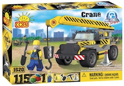 CONSTRUCTION - CRANE (115 PC) - Cobi Action Town- Construction Crane, 115 pieces