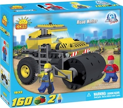 CONSTRUCTION - ROAD ROLLER (160 PC)