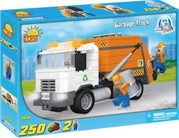 ACTION TOWN - GARBAGE TRUCK (250 PC)