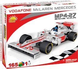 MCLAREN - MP4-25 2012 CAR 160 BLOCK