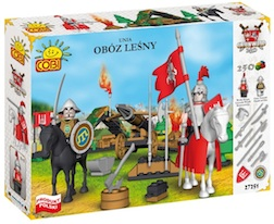 GRUNWALD- UNION CAMP (250 PCS) - Cobi- Knights Union Camp, 250 pieces