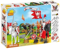 KNIGHTS - FOREST CAMP (250 PC) - Cobi- Knights Forest Camp, 250 pieces