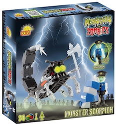 M. VS Z. - MONSTER SCORPION (80 PC) - Cobi Monsters Vs. Zombies Monster Scorpion 80 pieces