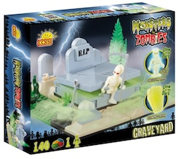 M. VS Z. - GRAVEYARD (140 PC) - Cobi- Monsters Vs. Zombies Graveyard, 140 pieces
