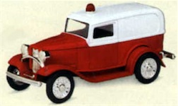 1/43 1932 FORD AMBULANCE