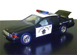 1/24 CALIF POLICE BNK CHEVY