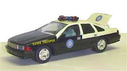 1/24 FL HWY PATROL BANK CHEVY