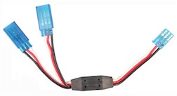 HD FU 6 INCH Y-HARNESS