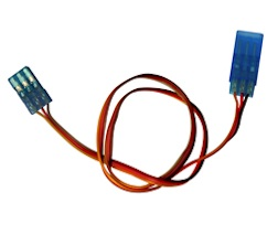 MW JR 12 INCH SERVO EXTENSION 32AWG