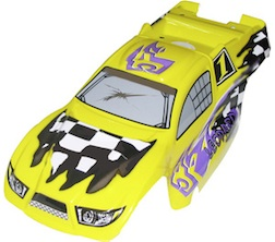 1/8 TRUGGY BODY- LEOPARD YELLOW