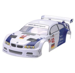 1/10 BMW M3 '07 BODY (CLEAR W/ STICKERS)