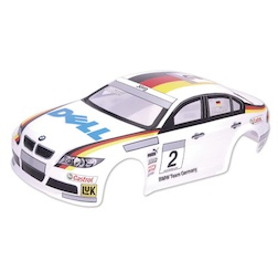 1/10 BMW 320 BODY (CLEAR W/ STICKERS)