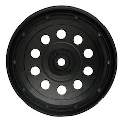 1/5 PLUTO RIM BLACK (REAR PAIR)