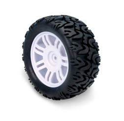 1/6 MONSTER TYRE SET