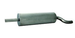 STAINLESS STEEL GAS EXHAUST PIPE, TYPE A