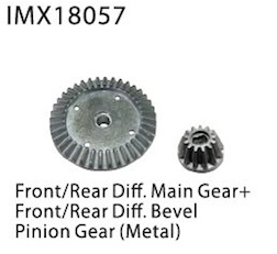 DIFF. MAIN GEAR + PINION