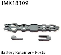 BATTERY RETAINER + POSTS