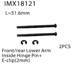 FRONT/REAR LOWER ARM INSIDE HINGE PIN +E