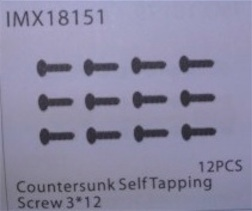 COUNTERSUNK SELF TAPPING SCREW