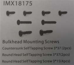 COUNTERSUNK SELF TAPPING SCREW 3*37 (2PC