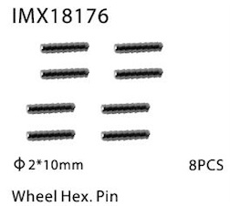 WHEEL HEX. PIN