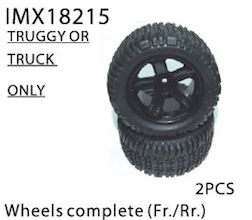 WHEELS COMPLETE (FR./RR) TRUGGY