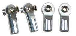 ALUM CHROME TIE ROD ENDS REVO