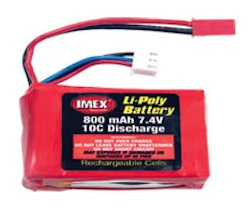 7.4V 800MAH LI-POLY BATTERY VORTEX