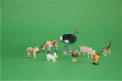 BOXED FARM ANIMALS COLLECTION, SERIES 1