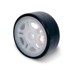 1/10 DRIFT TIRE SET D LUMINOUS RIM
