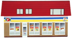 CONVENIENCE STORE HO SCALE