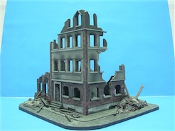 1/72 CITY TALL POLYSTONE BUILDING
