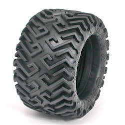 BAJA (T-MAXX) MEDIUM TIRES (W P/U FOAM)