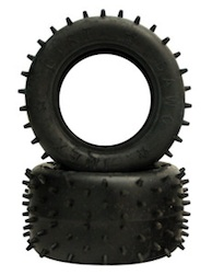 BLACKFOOT (MINI CAT) SPIKED TIRES SOFT (1 PAIR)
