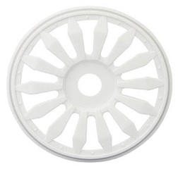 1/8 LIZZARD BUGGY RIMS WHITE (4)