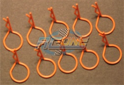 LG RING ORANGE BODY PINS (10)