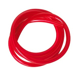 RED 6*3MM POLY TUBING FOR GAS-100CM
