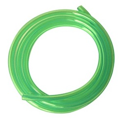 GREEN 6*3MM POLY TUBING FOR GAS-100CM