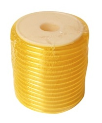 YELLOW 6*3MM POLY TUBING FOR GAS-15M