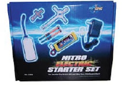 X78 NEW ELECTRIC STARTER SET W/ BATTERY